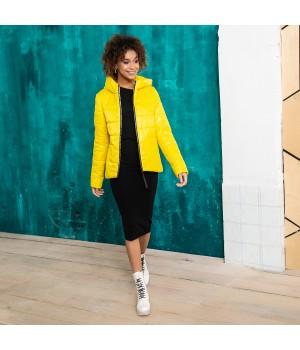 Куртка модель 188 жовта