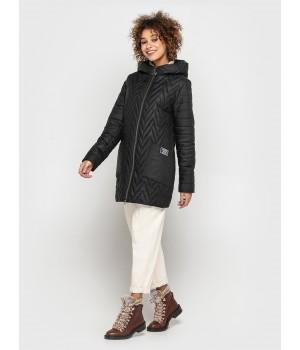 Куртка модель 192 чорна