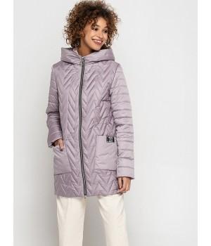 Куртка модель 192 рожевий лід