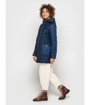Куртка модель 192 синя
