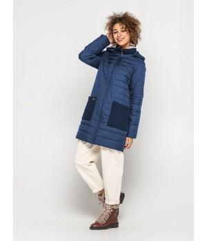 Куртка модель 193 синя