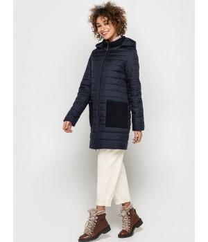 Куртка модель 193 темно-синя