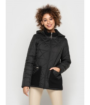 Куртка модель 195 чорна