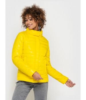 Куртка модель 196 жовта