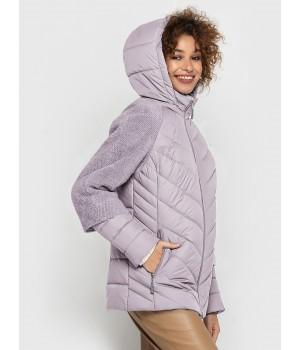 Куртка модель 203 рожевий лід