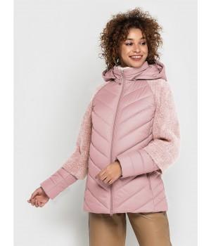 Куртка модель 203 рожева