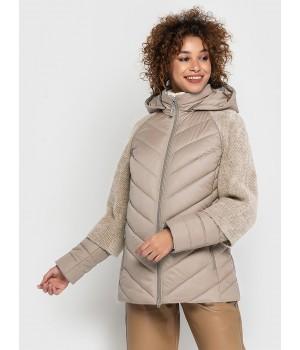 Куртка модель 203 темно-бежева