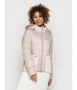 Куртка модель 204 рожевий лід