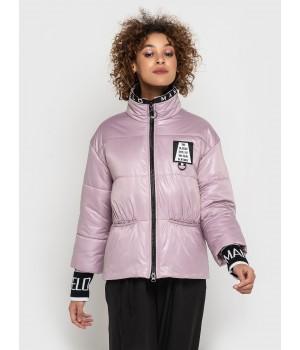 Куртка модель 205 рожева пудра