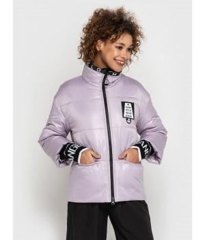 Куртка модель 205 рожевий лід