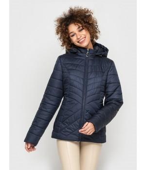 Куртка модель 194 темно-синяя