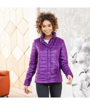 Куртка модель 196 фіолетова