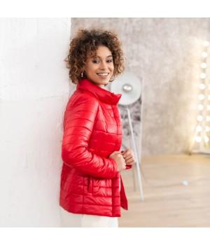 Куртка модель 196 червона
