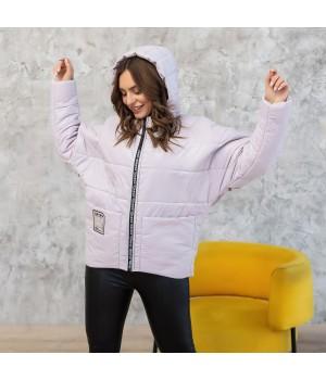 Куртка модель 202 рожевий лід