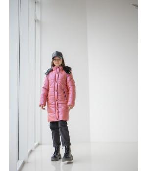 Куртка модель Ульяна терракот