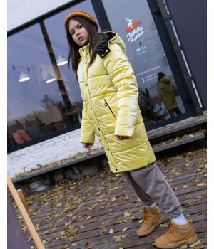 Куртка модель Ульяна лимон