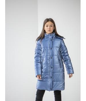 Куртка модель Ульяна сірий джинс