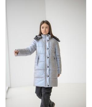 Куртка модель Ульяна блакитний