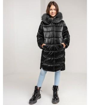 Куртка модель София черный