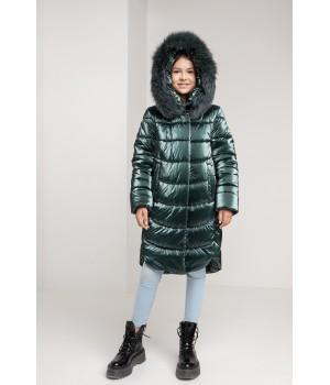 Куртка модель София изумруд