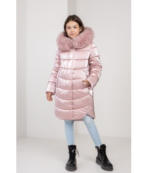 Куртка модель София пудра