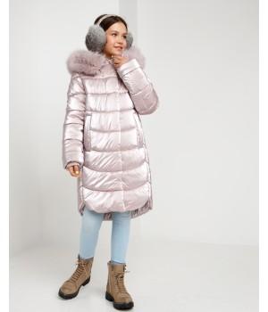 Куртка модель София жемчуг