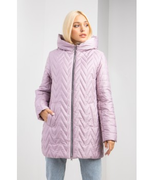 Куртка модель 183 рожева перлина