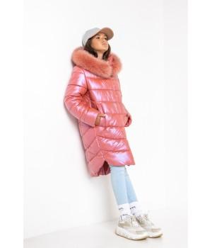Куртка модель София Columbia терракот