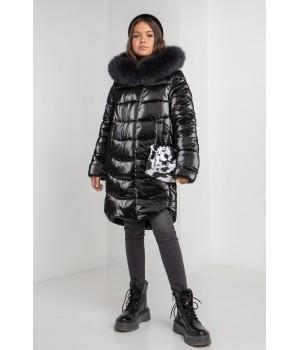 Куртка модель София Columbia черный
