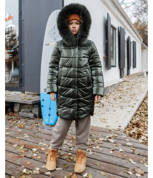 Куртка модель София Columbia хакі