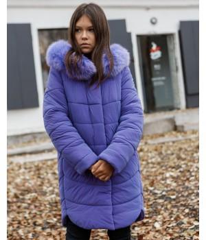 Куртка модель София Columbia фіолетовий рефлект