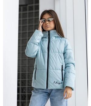Куртка модель Каміла м'ята