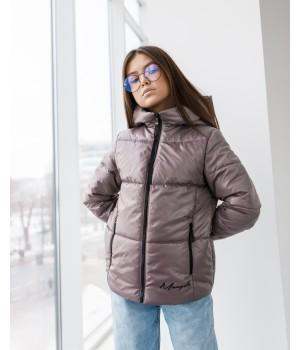 Куртка модель Каміла мокко