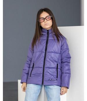Куртка модель Каміла лаванда