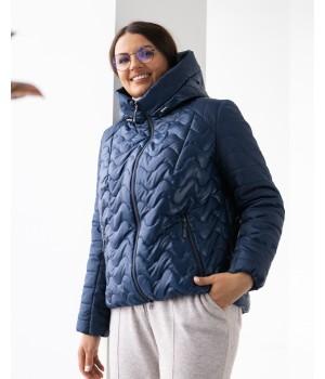 Куртка модель 229 синій