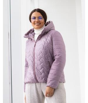 Куртка модель 229 темно-рожевий
