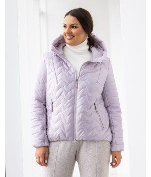 Куртка модель 229 рожева крига