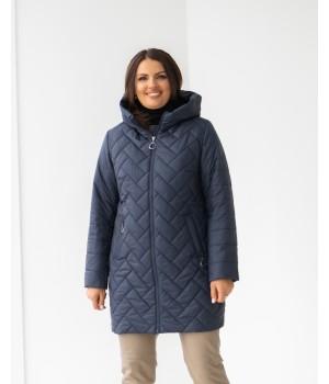 Куртка модель 234 темно-синій