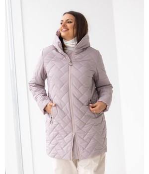 Куртка модель 234 рожева пудра