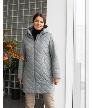 Куртка модель 234 сірий