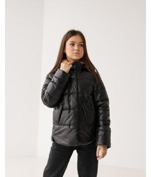 Куртка модель Міра чорний