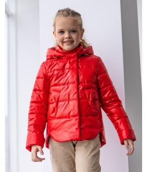 Куртка модель Міра червоний