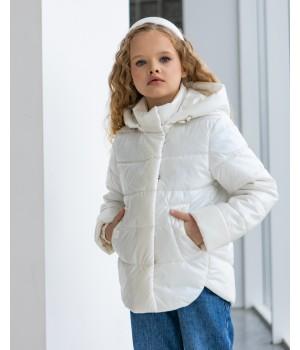 Куртка модель Міра білий