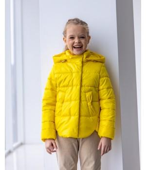 Куртка модель Міра жовтий