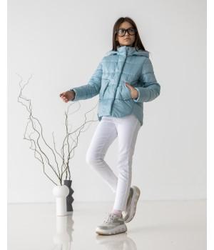 Куртка модель Міра світла м'ята