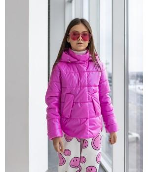 Куртка модель Міра  premium фуксія