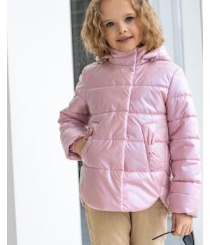 Куртка модель Міра premium пудра