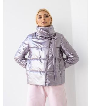 Куртка модель 235 темний металік
