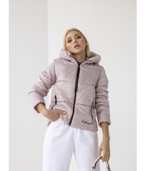 Куртка модель 232 пудра