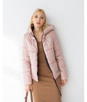 Куртка модель 232 нюдовий
